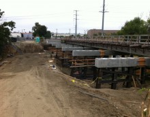 Guadalupe River Project Replacement of UPRR Bridges 3 & 4