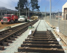 MUNI Green Light Rail Center Track Replacement, SFMTA Contract #1249